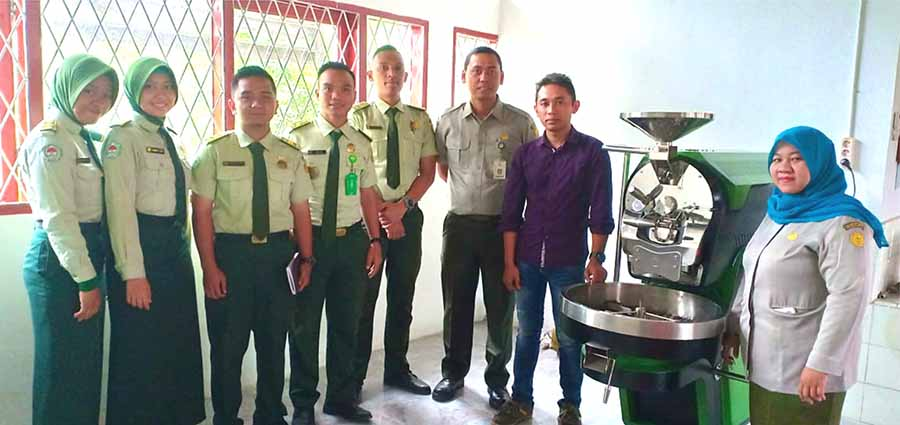 Coffee Roaster Machine Training mesin kopi